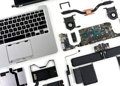 Dịch vụ thay thế linh kiện macbook